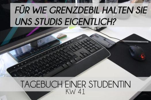 Für wie grenzdebil halten Sie uns Studis eigentlich? | TeS | KW 41