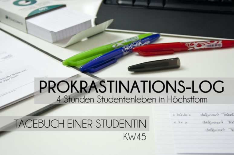Prokrastinations-Log