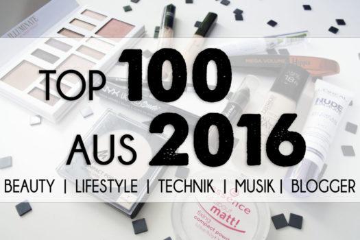 Das Ende ist noch nicht vorbei | Top 100 (Produkt-)Empfehlungen aus 2016